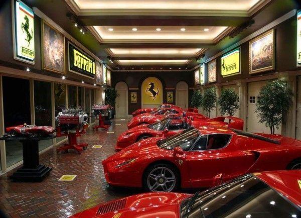 Ferrari garage for Garage auto st genest lerpt